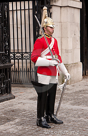 Queen s Guard Horse Guards Parade. London UK. Editorial Photography
