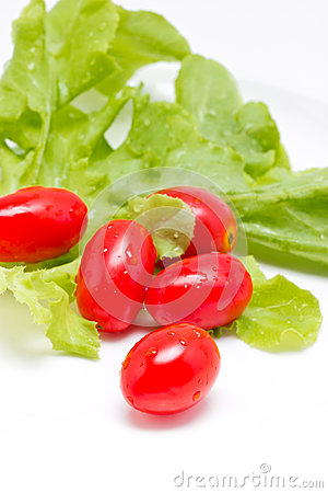 Queen Tomatoes And Lettuce.