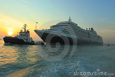 Queen Victoria cruise ship Editorial Stock Photo