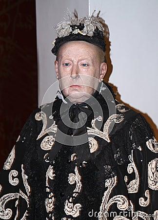 Queen Victoria at Madame Tussaud s Editorial Stock Photo