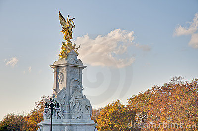 Queen Victoria Memorial at London, England