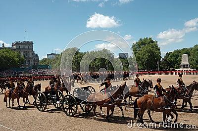 �the Queen�s Birthday Parade�. Editorial Photography