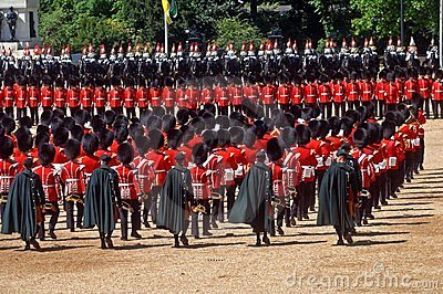 The Queen�s Birthday Parade�. Editorial Stock Image