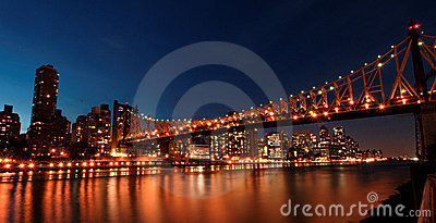 Queens bridge, New York
