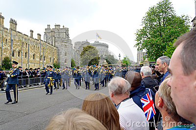 Queens Diamond Jubilee Great Parade Editorial Stock Image