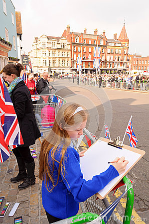 Queens Diamond Jubilee Great Parade Editorial Photography