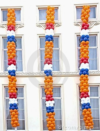 Queensday decoration