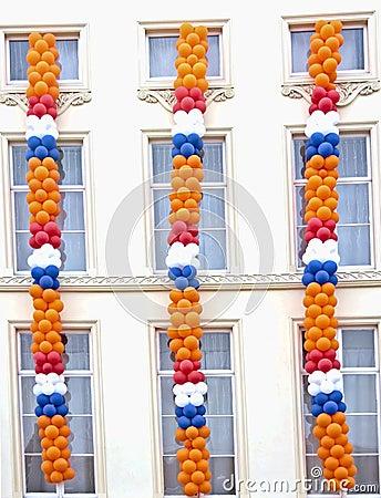 Queensday decoration