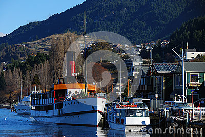 Queenstown Harbor Editorial Image