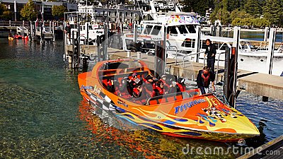 Queenstown Jet Boat, New Zealand