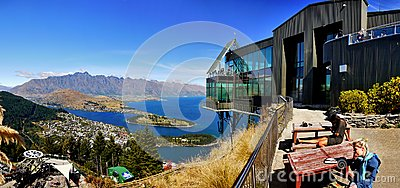 Queenstown, Wakatipu Lake, Gondola Summit view, New Zealand