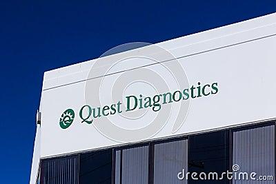 Quest Diagnostics Exterior And Logo Editorial Stock Image Image 64263579