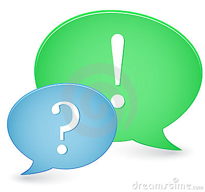 Question & Answer Signs Royalty Free Stock Photography - Image: 12836607
