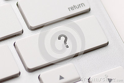 Question enter button key