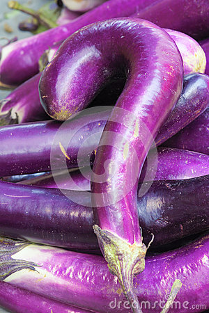 Question mark eggplant