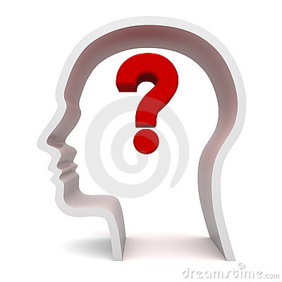 Question Mark In Head