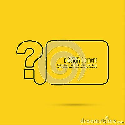 question mark icon stock vector image 54802991