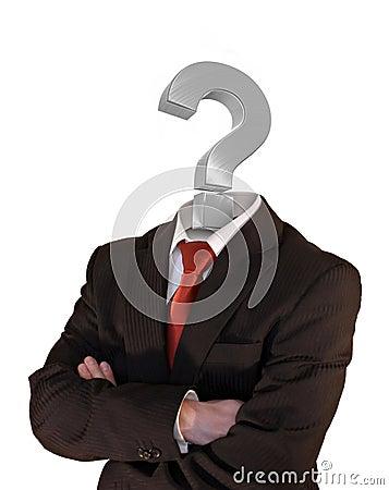 Free Question Mark Man Stock Photos - 2533303