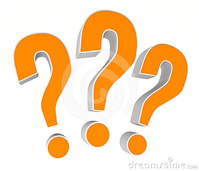 Question Marks Royalty Free Stock Image - Image: 24541146