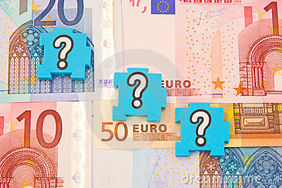 Question marks over the Euro.