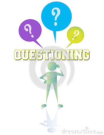 Free Questioning Royalty Free Stock Photography - 38575257