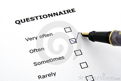 Questionnaire Stock Photos - Image: 1934443