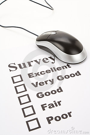 Questionnaire and computer mouse