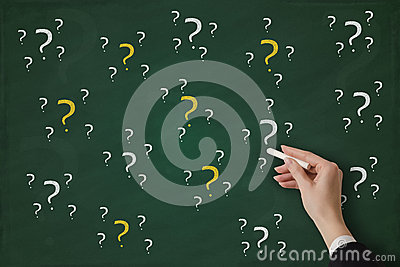Questions Photos stock - Image: 29086743