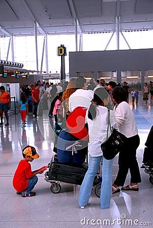 Free Queue Airport Stock Images - 1253934