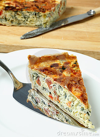 Quiche de poirée de portion