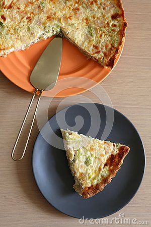 Free Quiche Lorraine Royalty Free Stock Image - 122144286