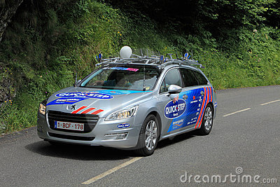 Quick Step car Editorial Stock Photo