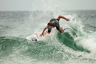 Quicksilver  Pro  Adrian Buchan Editorial Stock Image