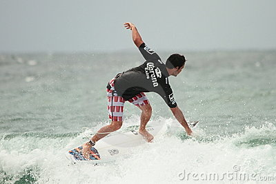Quicksilver Pro Jordy Smith asp Editorial Stock Photo