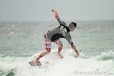 Quicksilver Pro Jordy Smith asp Editorial Stock Photo