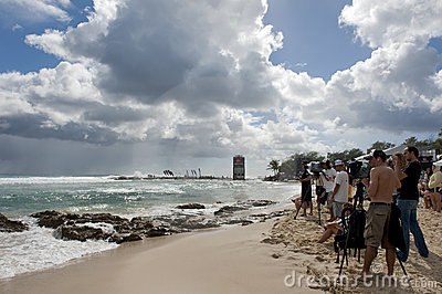 Quicksilver Pro & Roxy Pro 2011 Editorial Photo