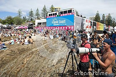 Quicksilver Pro & Roxy Pro 2011 Editorial Photo