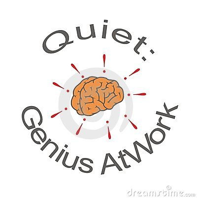 Quiet: genius at work