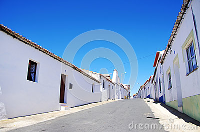 Quiet street in Alentejo