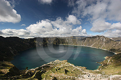 湖quilotoa