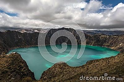 Quilotoa caldera