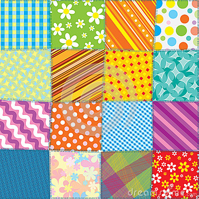 Free Quilt Patchwork Texture Stock Images - 29438784