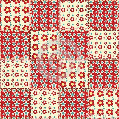 Quilt seamless pattern 1