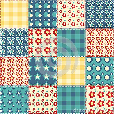 Quilt seamless pattern 3