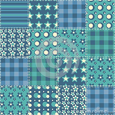 Quilt seamless pattern 4