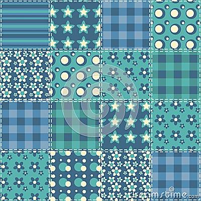 Quilt seamless pattern 4