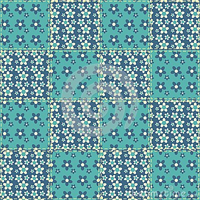 Quilt seamless pattern 6