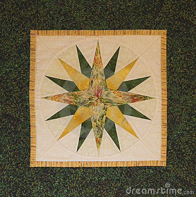 Quilted Northern Star