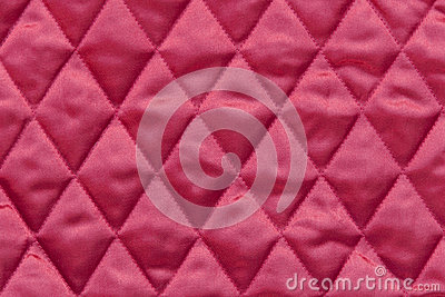Quilted Red Satin Fabric Stock Photography Image 27808242