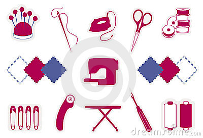 Quilting & Patchwork Icons